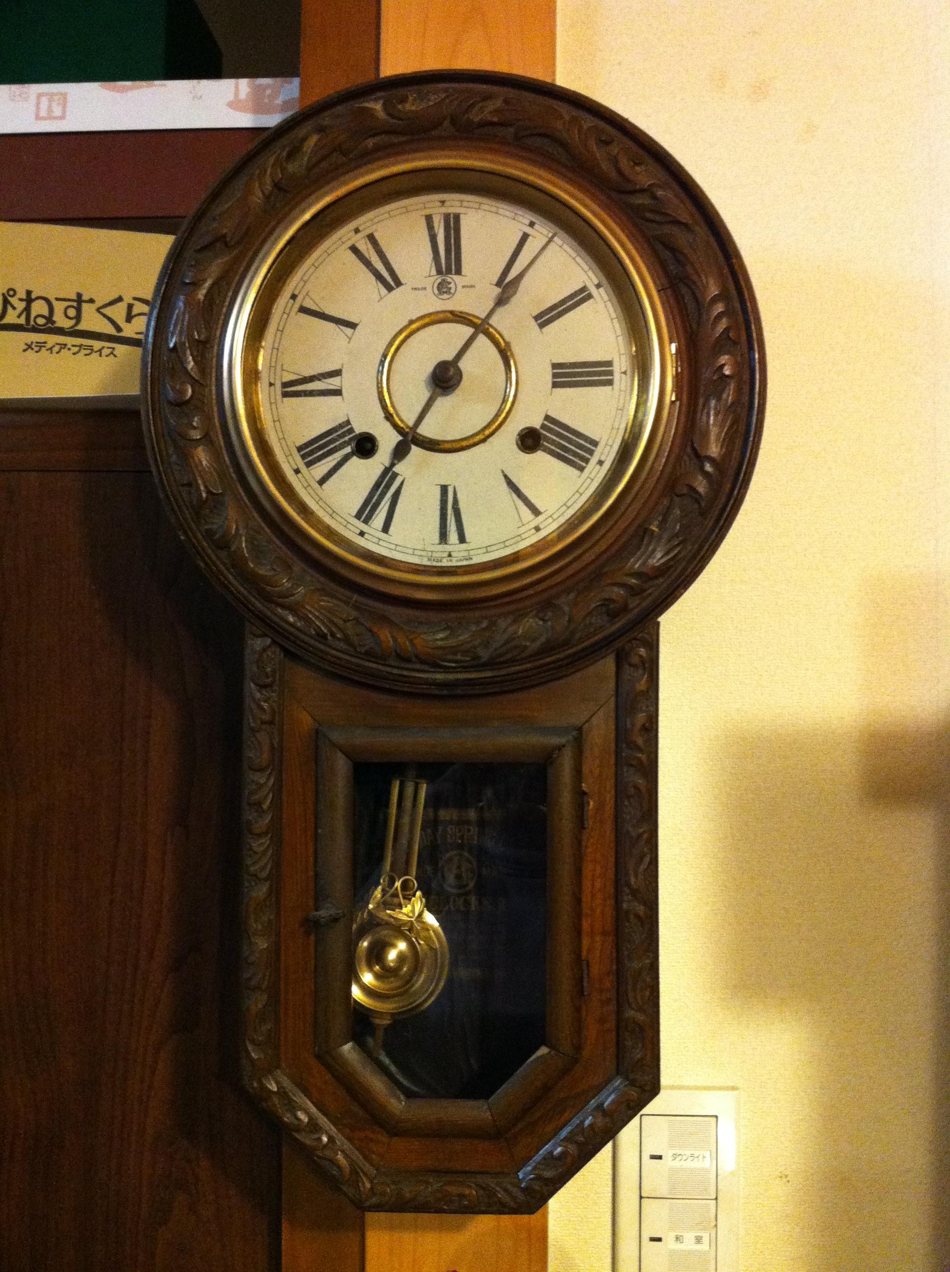 緑由】は骨董屋さんになった ... : 時間 時計 : すべての講義